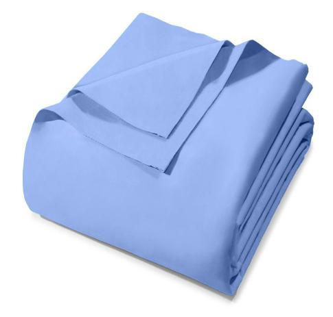 0591eaf5a2 Lençol Avulso - King Size - Royal - Sem Elástico - Azul 6224 - 100 Algodão  - Santista
