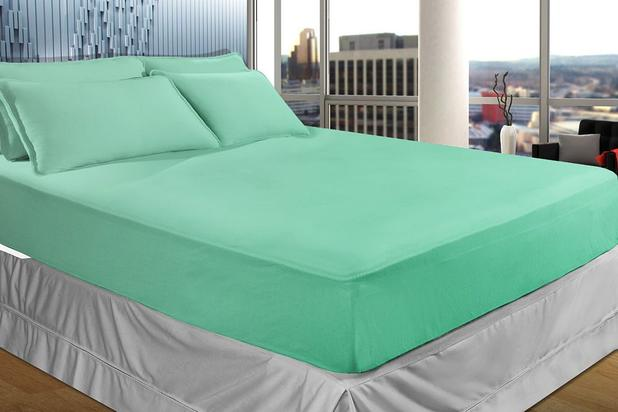 e1f1eb15c0 Lençol Avulso Malha - Queen Size - 100 Algodão - Verde - SBX ...