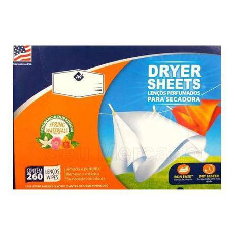 Imagem de Lenços Perfumados P/ Secadora C/ 260 Unidades Dryer Sheets