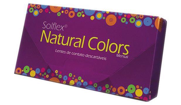 56f7b542a9eb6 Lente de Contato Solflex Natural Colors (com grau) - Lente de Câmera ...