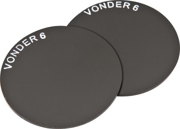 Lente redonda 50mm verde tonalidade 6 com 2 peças - Vonder - EPI ... 4864ef40fc