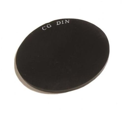 b450165e7337b Lente Segurança 50 mm Para Óculos Maçariqueiro Redondo Carbografite CA 3135