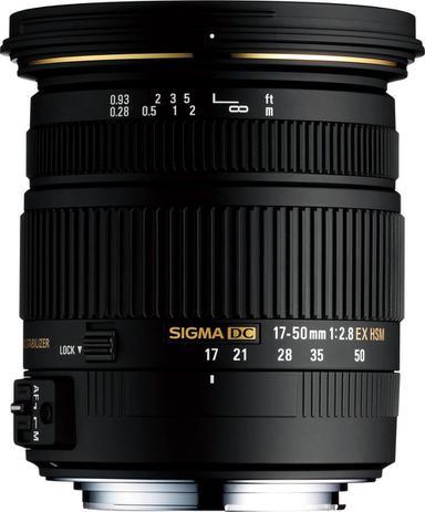 Lente Sigma 17-50mm f 2.8 AF EX DC OS HSM para Nikon APS-C - Lente ... 272a12dbae