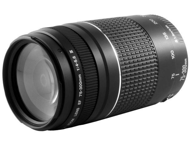 Lente Zoom Telefoto 75-300mm - Canon EF 75-300mm f/4-5.6III