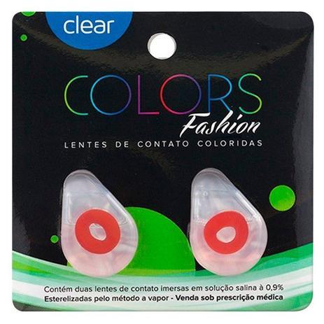 004278339 Lentes de Contato Coloridas Clear Colors Fashion - Clear optical lens