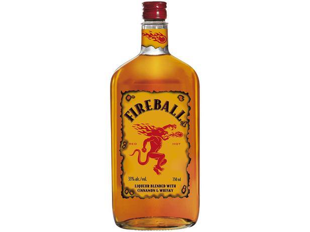 Imagem de Licor Fireball Whisky com Canela Red Hot 750ml