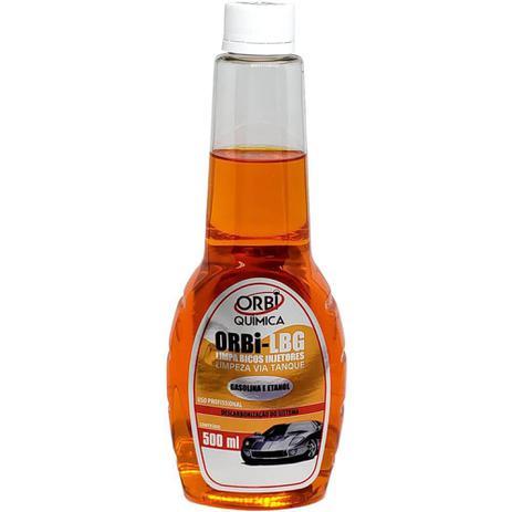 Imagem de Limpa Bico Injetor Via Tanque Gasolina e Etanol Orbi-LBG 500 ml - Orbi Quimica