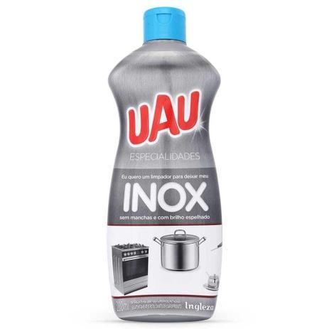 Imagem de Limpa inox com brilho espelhado uau ingleza 200ml