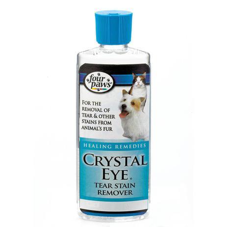 Imagem de Limpa Lágrimas de cães e gatos Ameniza manchas de lágrimas no pet. Clareador de manchas ao redos dos olhos. Chalesco Crystal Eye