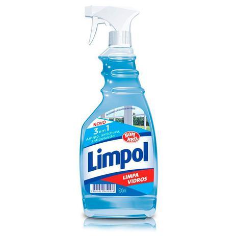 Imagem de Limpa vidros Limpol 3 em 1 gatilho 500ml - Bombril