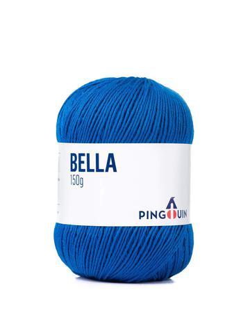 Imagem de Linha bella pingouin 150g - cor 4579 azul bic