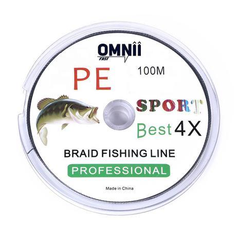 Imagem de Linha de Pesca Multifilamento 2.0 - 0,24 mm - 28 lbs 12,7 kg - 100m
