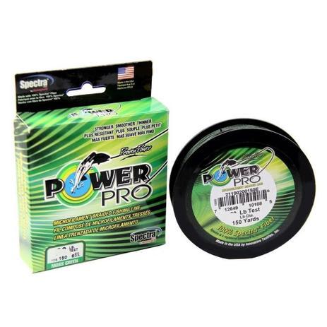 Imagem de Linha Pesca Multifilamento Power Pro 4x 135m 0.41mm 65 Lbs 30 Kilos