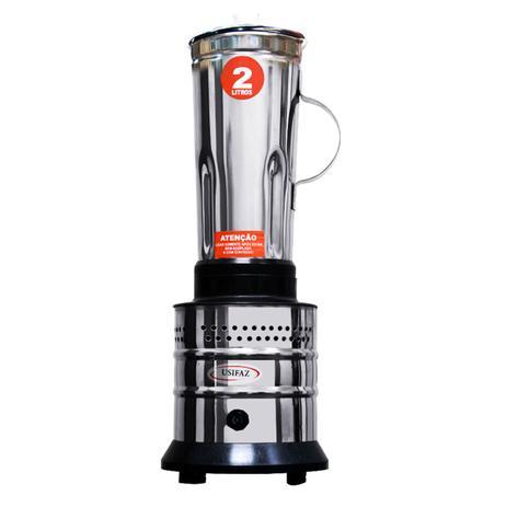 Imagem de Liquidificador Industrial Alta Rotação 2 Litros 800w Inox Para Casa 110v - Usifaz