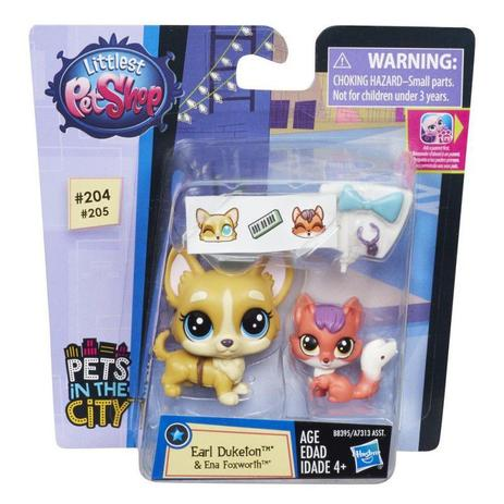Imagem de Littlest Pet Shop Pets in The City B8395 - Hasbro