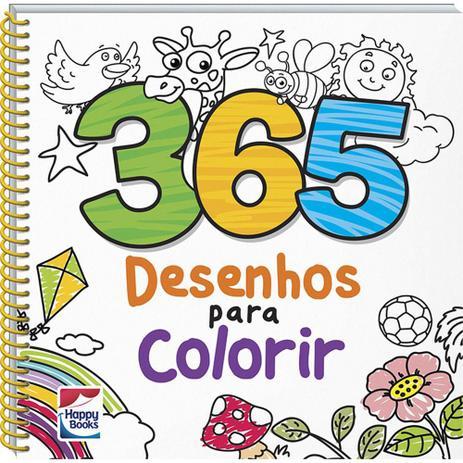 Imagem de Livro - 365 Desenhos para Colorir