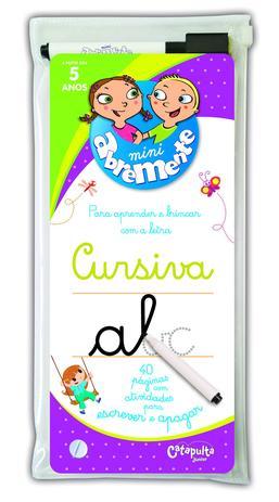 Imagem de Livro - Abremente - Mini cursiva