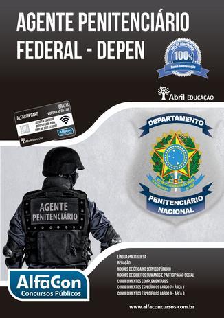 Imagem de Livro - Agente penitenciário federal - DEPEN