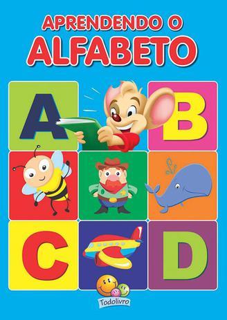 Imagem de Livro - Aprendendo o alfabeto