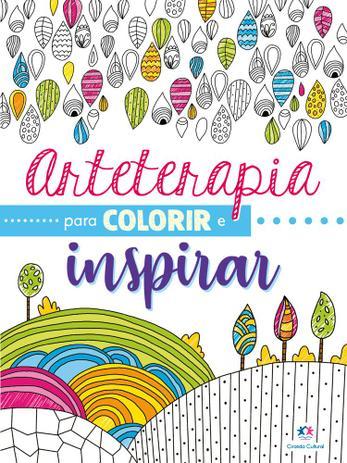 Imagem de Livro - Arteterapia para colorir e inspirar