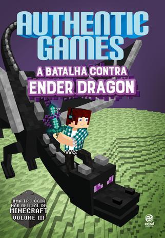 Livro Authenticgames A Batalha Contra Ender Dragon Livros De
