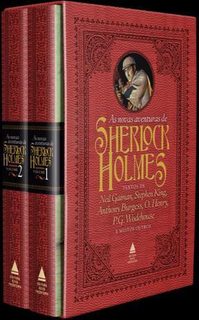 Imagem de Livro - Box - As novas aventuras de Sherlock Holmes