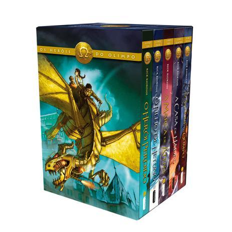 Imagem de Livro - Box Os Heróis do Olimpo