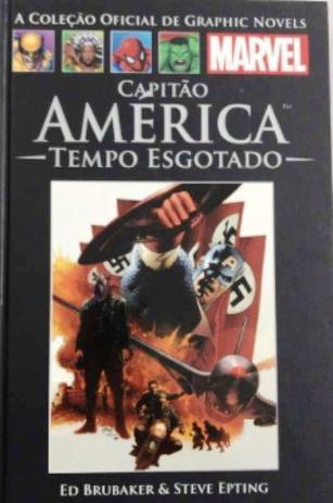 Imagem de Livro Capitão América Tempo Esgotado