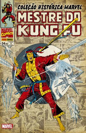 Imagem de Livro - Coleção Histórica Marvel: Mestre Do Kung Fu Vol. 5