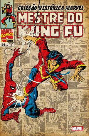 Imagem de Livro - Coleção Histórica Marvel: Mestre Do Kung Fu - Volume 2