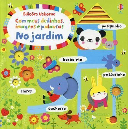 Imagem de Livro - Com meus dedinhos, imagens e palavras no jardim