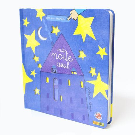 Imagem de Livro - Com um Dedinho: Na Noite Azul