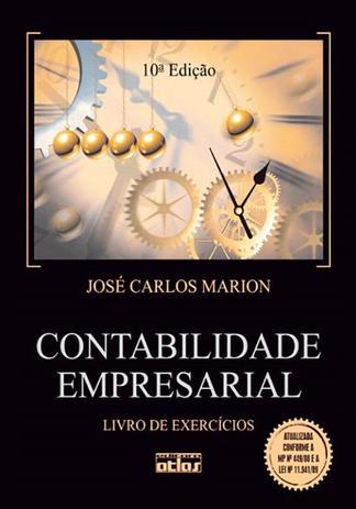 Imagem de Livro - Contabilidade Empresarial (Livro De Exercícios)