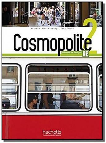 Imagem de Livro - Cosmopolite 2 - Livre de l´eleve + DVD rom + Parcours digital