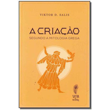 Imagem de Livro - Criacao, A: Segundo A Mitologia Grega
