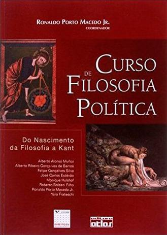 Imagem de Livro - Curso De Filosofia Política: Do Nascimento Da Filosofia A Kant
