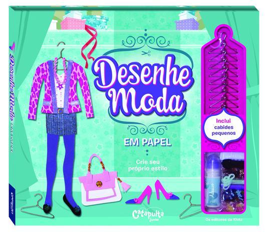 Imagem de Livro - Desenhe moda em papel (caixa)