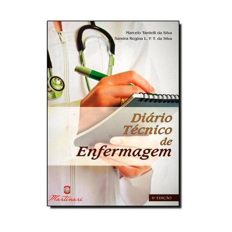 Imagem de Livro - Diario Técnico de Enfermagem - Tardelli