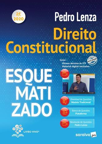 Imagem de Livro - Direito Constitucional Esquematizado 2020 - 24ª Edição
