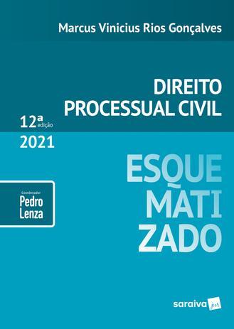 Imagem de Livro - Direito Processual Civil Esquematizado