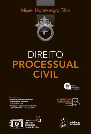Imagem de Livro - Direito Processual Civil