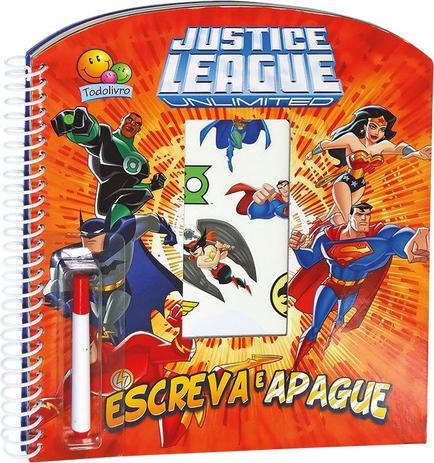 Imagem de Livro - Escreva e apague licenciados: Justice League unlimited