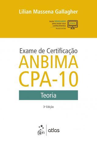 Imagem de Livro - Exame de certificação ANBIMA CPA-10