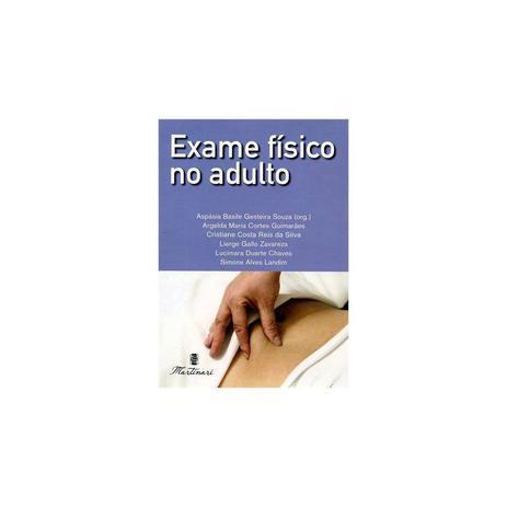 Imagem de Livro - Exame Físico no Adulto - Souza