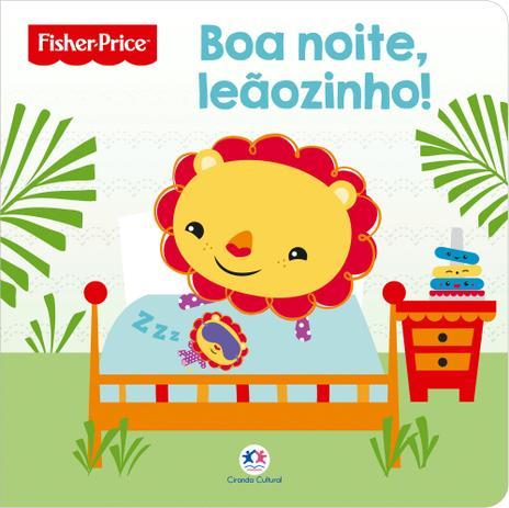 Livro Fisher Price Boa Noite Leaozinho Livros De