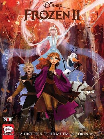 Imagem de Livro - Frozen 2 - HQ