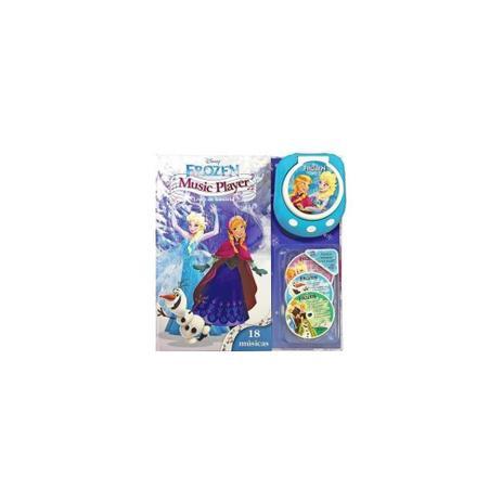 Imagem de Livro - Frozen music player livro de historia 18 musicas