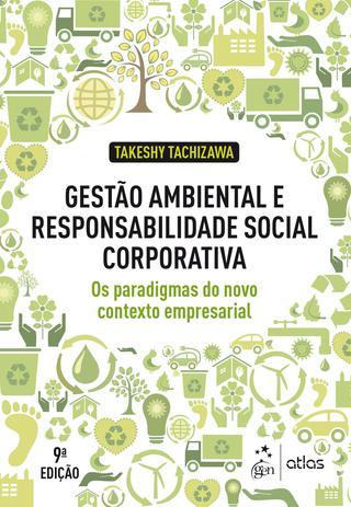 Imagem de Livro - Gestão Ambiental Responsabilidade Social Corporativa