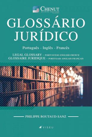 Imagem de Livro - Glossário Jurídico: Português - Inglês - Francês - Editora viseu