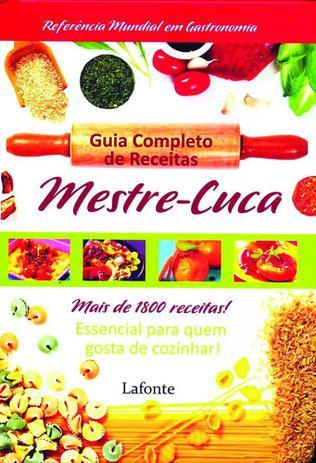 Imagem de Livro - Guia completo de receitas mestre Cuca